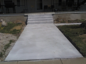 TLH Steps and Walkway